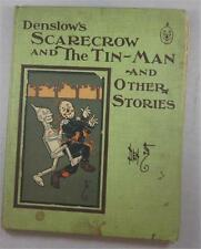DENSLOW'S SCARECROW AND THE TIN MAN AND OTHER STORIES DILLINGHAM 1904 1ST ED