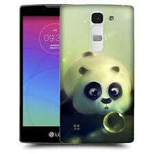 CUSTODIA COVER  per LG  SPIRIT TPU BACK  CASE PANDA IN ACQUA