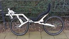 "Recumbent bicycle Ligfiets Recumbent Flevo Bike Racer 26""Bikes Disc brakes"