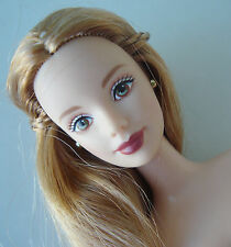 Barbie Doll NUDE Long Strawberry Blonde Hair/ Blue Eyes NEW!