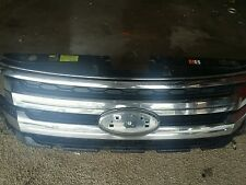 2011-14 FORD EDGE FRONT UPPER GRILLE ASSYMBLY CHROME OEM