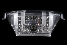 Hyosung 2010-2016 GT650/R/S GT-250/R COMET LED TAILLIGHT WITH BLINKERS CLEAR LEN
