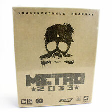 Metro 2033 Russian Collectors Edition for PC by 4A Games, Sealed