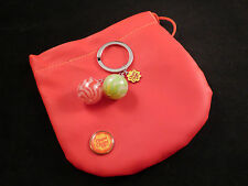Chupa Chups Red and Green Lollypops Key Ring and Pouch / Bag - Fun Gift