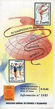 España XII Campeonato Mundial de gimnacia Ritmica año 1985 (CW-378)