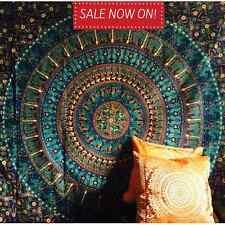 Indio Tapiz De Pared Colgante Mandala Cobertor Hippie Gypsy cubierta Bohemio Dormitorio Deco