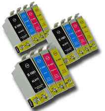 12 T1006 non-OEM Ink Cartridges For Epson T1001-4 Stylus Office BX310FN BX600FW
