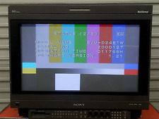 "Sony BVM-D24EIWU 24"" Broadcast Monitor w/ BKM-41HD - BKM-21D Software upgraded"