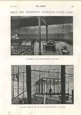 1900 Interior Telephone Exchange Vine Street Mr Frederick James Furnivall