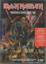 2 DVD SET IRON MAIDEN MAIDEN ENGLAND '88 + EXTRAS SEALED NEW LIVE