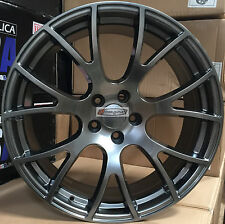 20 Rims Hyper Black Wheels Hellcat Style Fit Challenger Charger 300C Magnum 22