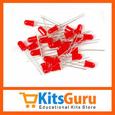 50 Pcs RED LED 5mm KG279