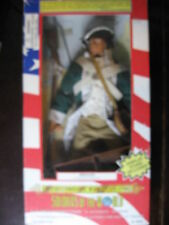 "1/6 12"" 30cm  SOLDIERS OF THE WORLD  PRIVATE  GUERRE D'INDEPENDANCE USA"