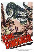 King Dinosaur Poster 01 A4 10x8 photo print