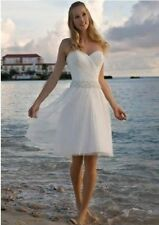 2015 New Short Bridal Gown Wedding Dress bride Custom size 4.6.8.10.12.14.16.18+