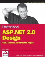 Professional ASP.NET 2.0 Design: CSS, Themes, and Master Pages (Programmer to Pr