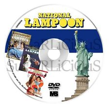 National Lampoon Magazine 1970 to 1998 now fully searchable dvd with menu in pdf