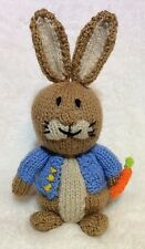 KNITTING PATTERN - Peter Rabbit inspired chocolate orange cover or 18 cms toy