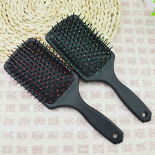 Spring Tangle Detangling Wet Dry Hair Brush Gentle Bristles Women men Kids Salon