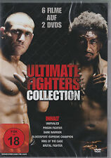 Ultimate Fighters Collection - Blood and Honor - 6 Filme auf 2 DVDs - *NEU*