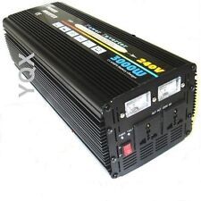 3000W (6000W Peak) DC24V-AC240V UPS POWER INVERTER + 20A FAST BATTERY CHARGER