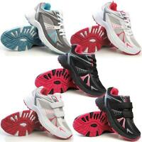 Ladies Running Trainers New Girls Shock Absorbing Walking Gym Sports Shoes Size