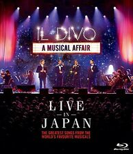 New IL DIVO Live at Budokan in Japan 2014 Blu-ray SIXP-23 4547366226034