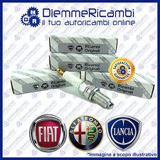 KIT 4 CANDELE ORIGINALI FIAT COD. 55188857 FIAT PUNTO 1.2 GPL  DCPR7E-N-10 NGK