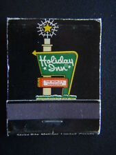 HOLIDAY INN THE WORLD'S INNKEEPER RESERVE AHEAD HOLIDEX COMPUTER SYS MATCHBOOK