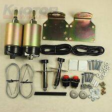 50lb solenoid shaved door kit hot rod rat rod complete with 2 door poppers new
