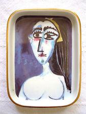 Pablo PICASSO Print-Porcelain Dish-Figures Portraits Cubism Art Artwork Small