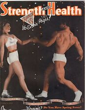 Strength & Health Bodybuilding Weightlifting Muscle Magazine/John Grimek 4-40