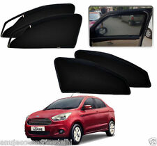 Zipper Magnetic Sun Shades Car Curtain For -Ford Figo Aspire