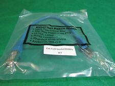1 Ft Cat.7 SSTP Patch Cable 600MHz Copper Shielded Ethernet Networ Blue Cable.