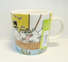 Arabia Finland Moomin mug Sailing with Nibling & Tooticky, Seasonal mug 2014