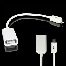 Câble Adaptateur Micro USB Host OTG pour Samsung Galaxy S4 S3 Note 2 Note 2 Tab