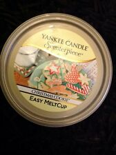 YANKEE Candle scenterpiece NATALE COOKIE Melt Cup