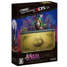 NEW Nintendo 3DS LL XL 3D pack The Legend of Zelda Majora's Mask Edition Limited