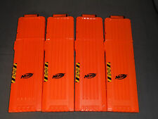 Nerf Dart Mags Lot of 4 18 Rounds Max Clips Magazines Gun Mags