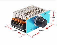 4000W 220V SCR Electronic Regulator Motor Speed Control Dimming thermostat