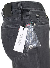 NEWT$ LATEST VERSACE COLLECTION DENIM STRETCH GRAY JEANS PANTS 100%AUTH 31