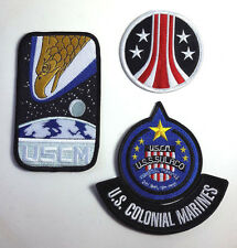 ALIENS Movie USCM Sulaco Uniform Patch Set of 4- FREE S&H (ALPA-1/2/3/4-A)