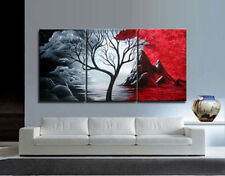 3pc Large Modern Abstract Art Oil Painting Wall Decor canvas NO frame