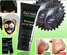 NEW Blackhead Peel-off Purifying Deep Cleaning Ficial Black Mud Mask 50ml