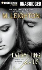 The Bad Boys: Everything for Us 3 by M. Leighton (2014, MP3 CD, Unabridged)