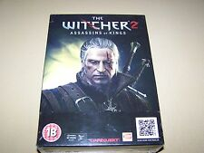 The Witcher 2 Assassins of Kings Premium Edition  PC  ** New & Sealed**