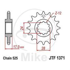 JT Sprockets Ritzel 14 Zähne Teilung 525 Alt. Honda CBR 600 F PC31