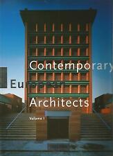 JODIDIO CONTEMPORARY EUROPEAN ARCHITECTS vol 1 TASCHEN + PARIS POSTER GUIDE Eng