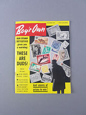 BOY'S OWN PAPER Magazine, Dated December 1965 , Fathers Day Husbands Mens Gift