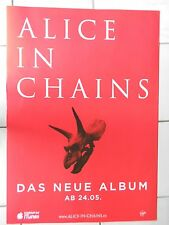 ALICE IN CHAINS  2013  Original Promo Poster  --  Promo Plakat A1 NEU